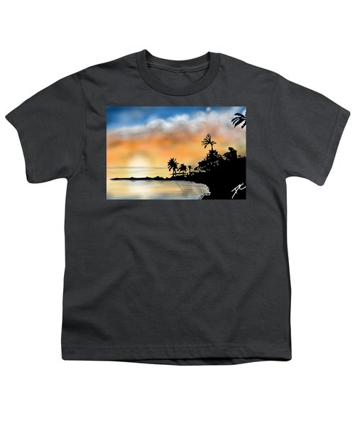 Hawaii Beach Youth T-Shirt