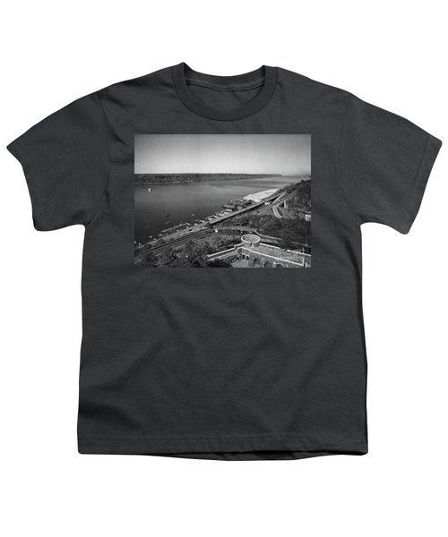 Henry Hudson Parkway, 1936 Youth T-Shirt by Cole Thompson