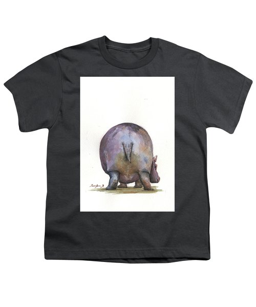 Hippo Back Youth T-Shirt