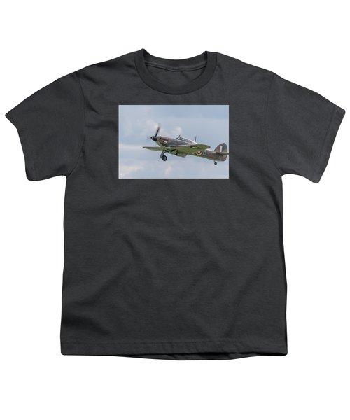 Hurricane Taking Off Youth T-Shirt