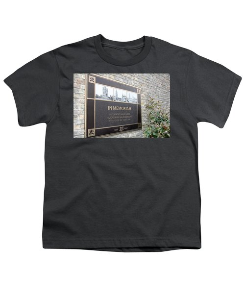 Youth T-Shirt featuring the photograph In Memoriam - Ypres by Travel Pics