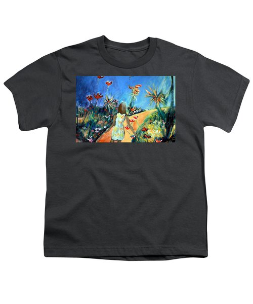 In The Garden Of Joy Youth T-Shirt