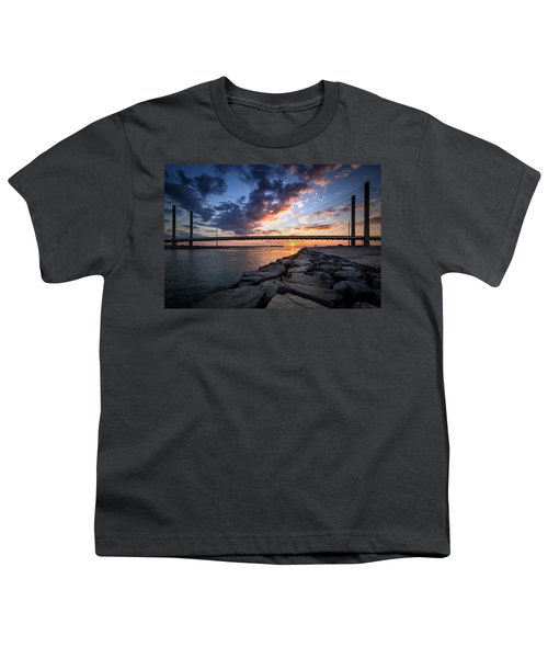 Indian River Inlet And Bay Sunset Youth T-Shirt