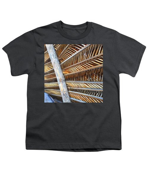 Palm Thatch Detail  Youth T-Shirt