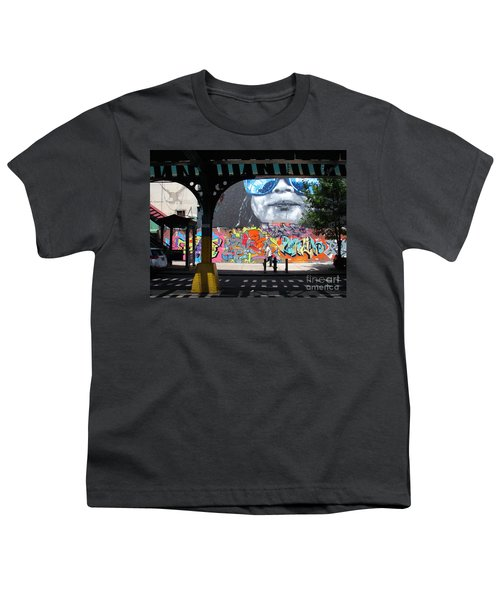Inwood Street Art  Youth T-Shirt by Cole Thompson