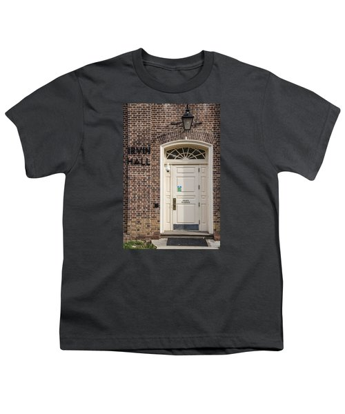 Irvin Hall Penn State  Youth T-Shirt by John McGraw