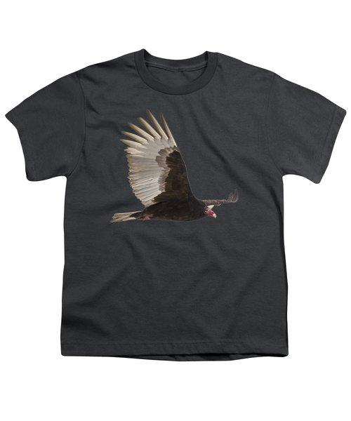 Isolated Turkey Vulture 2014-1 Youth T-Shirt