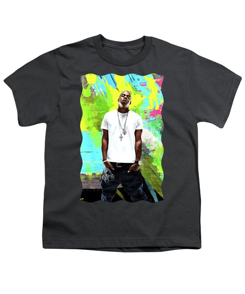 Jay Z - Celebrity Art Youth T-Shirt