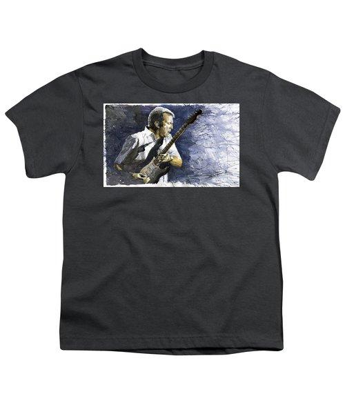 Jazz Eric Clapton 1 Youth T-Shirt