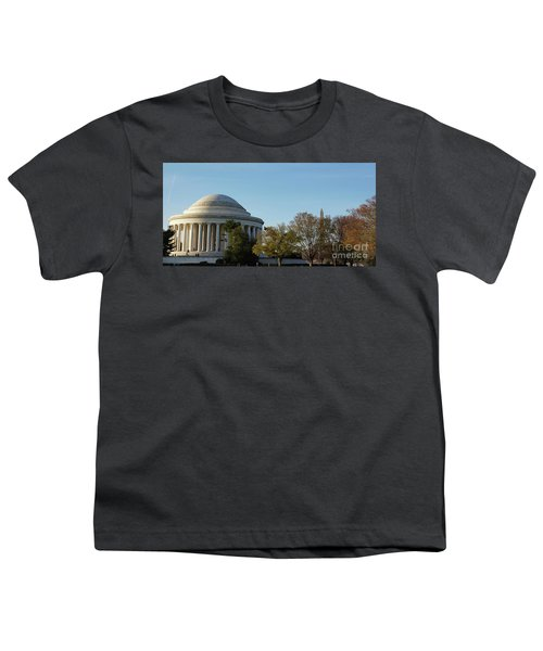 Jefferson Memorial Youth T-Shirt by Megan Cohen