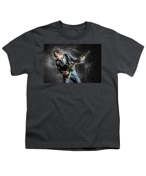 Joe Bonamassa Youth T-Shirt by Taylan Apukovska