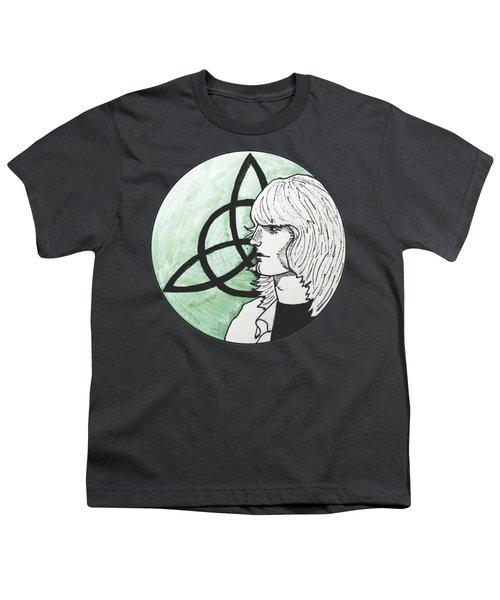 John Paul Jones Youth T-Shirt by Sofia Vyalykh