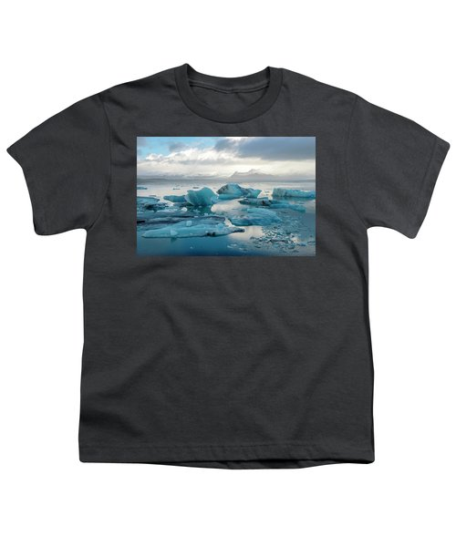Jokulsarlon, The Glacier Lagoon, Iceland 6 Youth T-Shirt