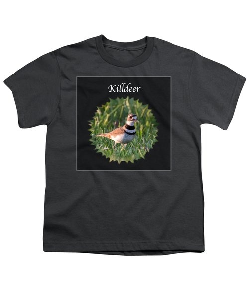 Killdeer Youth T-Shirt by Jan M Holden