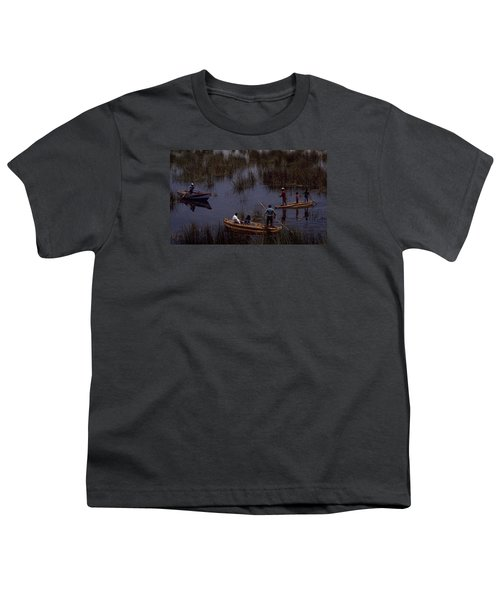 Lake Titicaca Reed Boats Youth T-Shirt