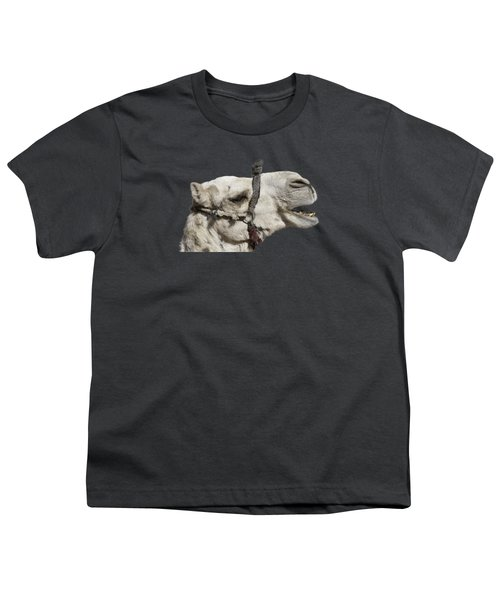 Laughing Camel Youth T-Shirt by Roy Pedersen