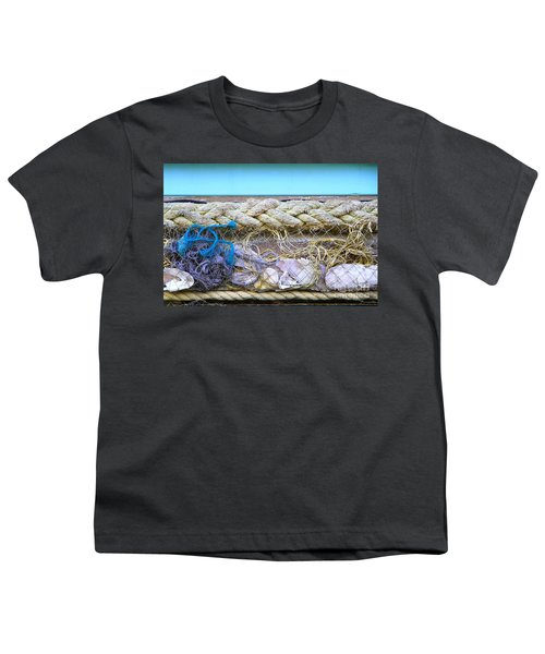Youth T-Shirt featuring the photograph Line Of Debris II by Stephen Mitchell