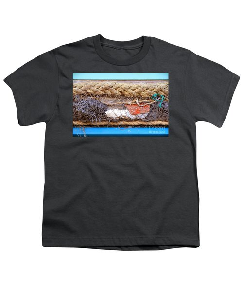 Youth T-Shirt featuring the photograph Line Of Debris by Stephen Mitchell