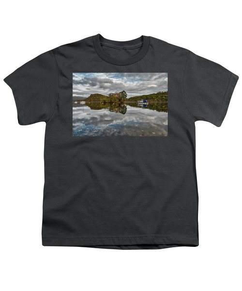 Loch Lomond At Aldochlay Youth T-Shirt by Jeremy Lavender Photography