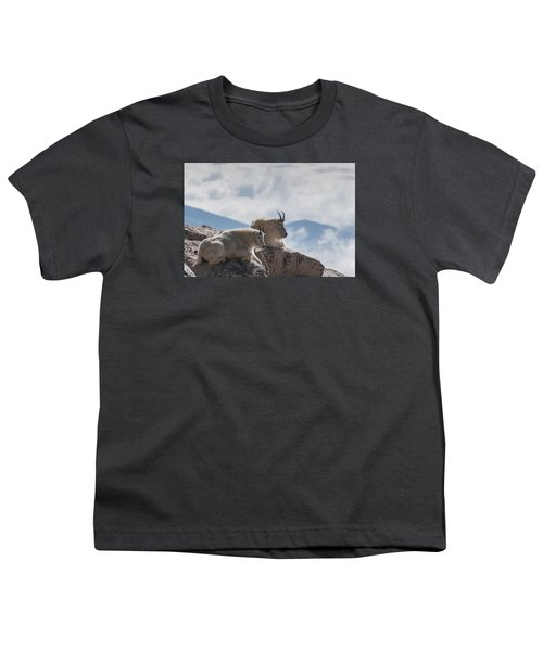 Youth T-Shirt featuring the photograph Looking Down On The World by Gary Lengyel