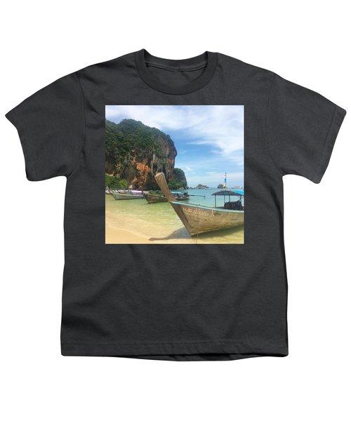 Lounging Longboats Youth T-Shirt