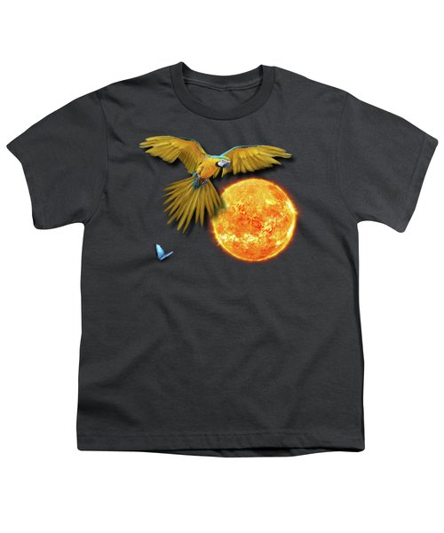 Macaw Sun Youth T-Shirt
