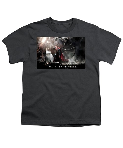 Man Of Steel Youth T-Shirt