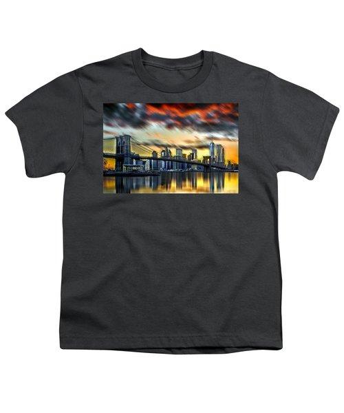 Manhattan Passion Youth T-Shirt by Az Jackson