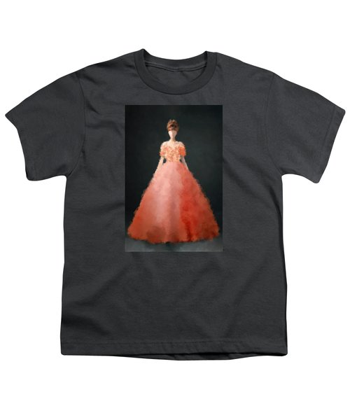 Youth T-Shirt featuring the digital art Melody by Nancy Levan