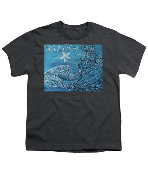 Mermaid- Wish Upon A Starfish Youth T-Shirt