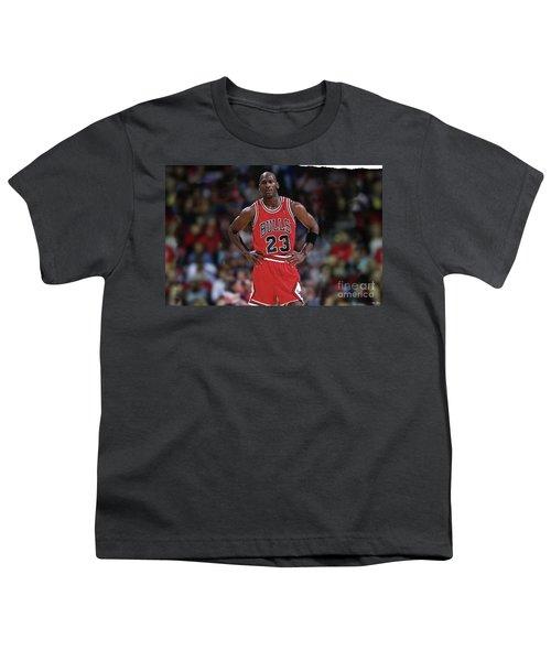 Michael Jordan, Number 23, Chicago Bulls Youth T-Shirt