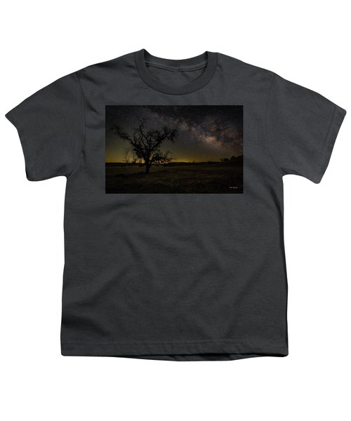 Miily Way In A Late Spring Sky Youth T-Shirt