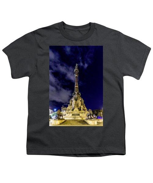 Mirador De Colom Youth T-Shirt by Randy Scherkenbach