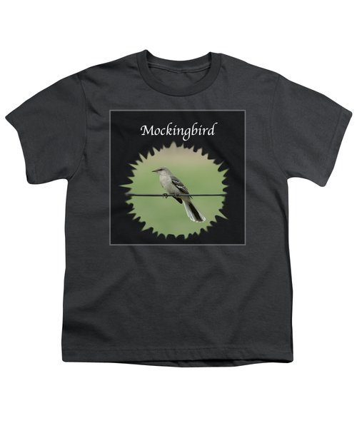 Mockingbird      Youth T-Shirt by Jan M Holden