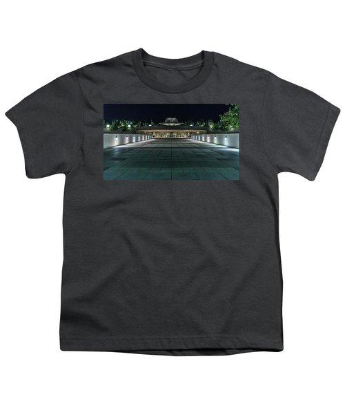 Monona Terrace Youth T-Shirt by Randy Scherkenbach