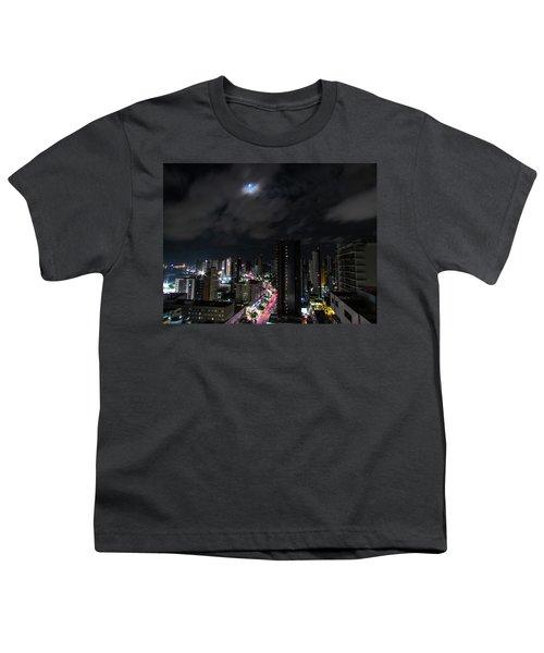 Moonlight Youth T-Shirt by Cesar Vieira