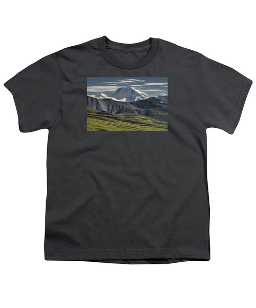 Youth T-Shirt featuring the photograph Mt. Mather by Gary Lengyel