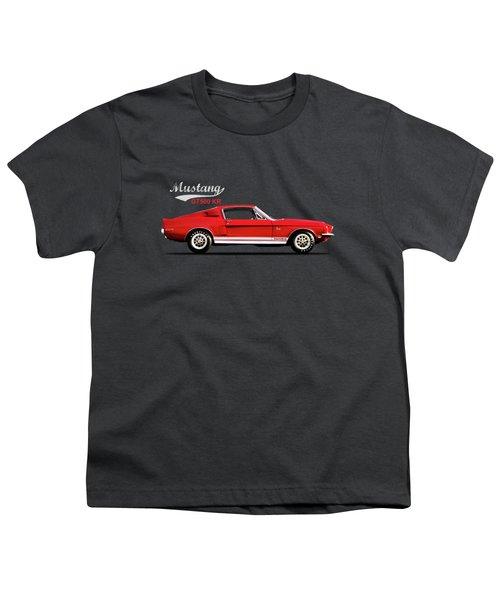 Mustang Shelby Gt500 Kr Youth T-Shirt