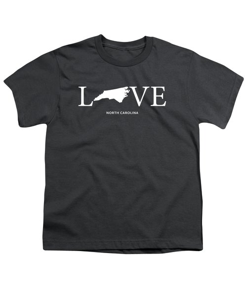 Nc Love Youth T-Shirt by Nancy Ingersoll