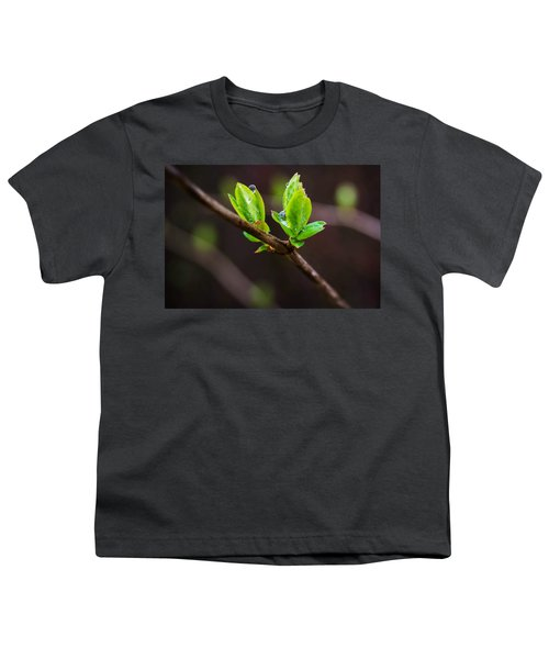 New Growth In The Rain Youth T-Shirt