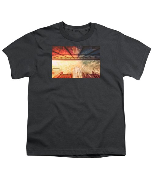 New York City - Chrysler Building Youth T-Shirt by Vivienne Gucwa