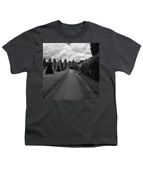 Newstead Abbey Country Garden Gravel Path Youth T-Shirt