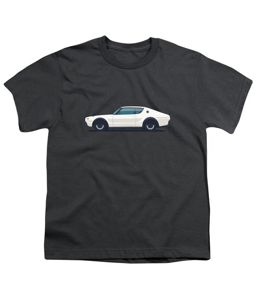 Nissan Skyline Gt-r C110 Side - Plain White Youth T-Shirt