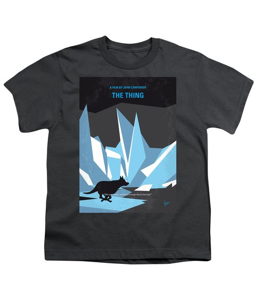 No466 My The Thing Minimal Movie Poster Youth T-Shirt