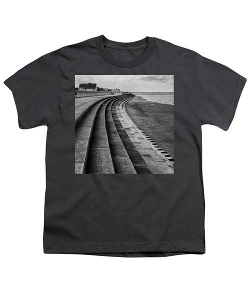 North Beach, Heacham, Norfolk, England Youth T-Shirt