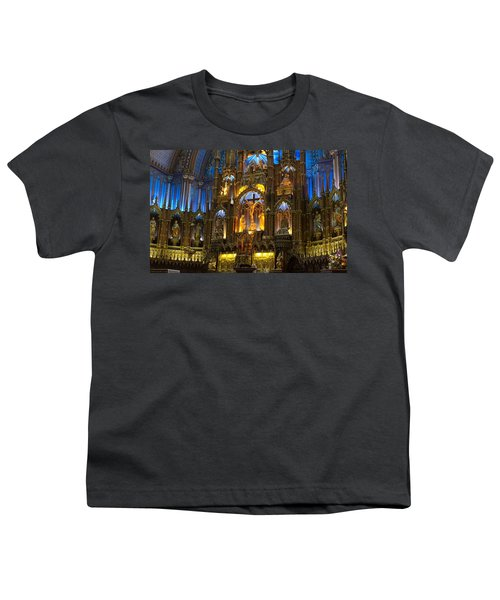 Notre Dame Basilica In Montreal Youth T-Shirt