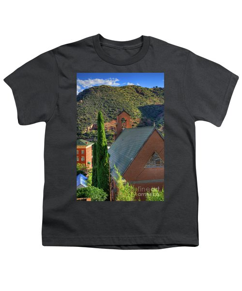 Old Church In Bisbee Youth T-Shirt
