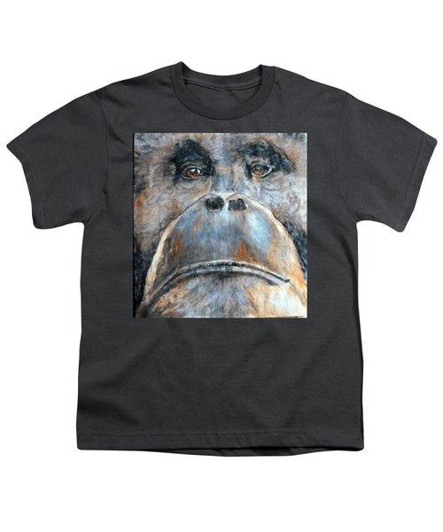 Orangutan Youth T-Shirt by Maureen Murphy