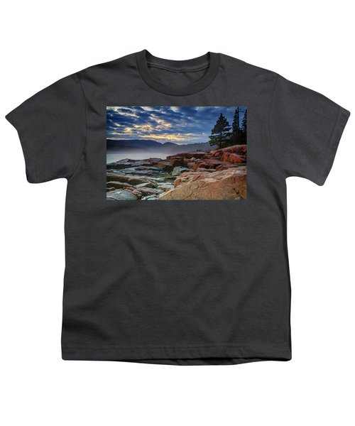 Otter Cove In The Mist Youth T-Shirt
