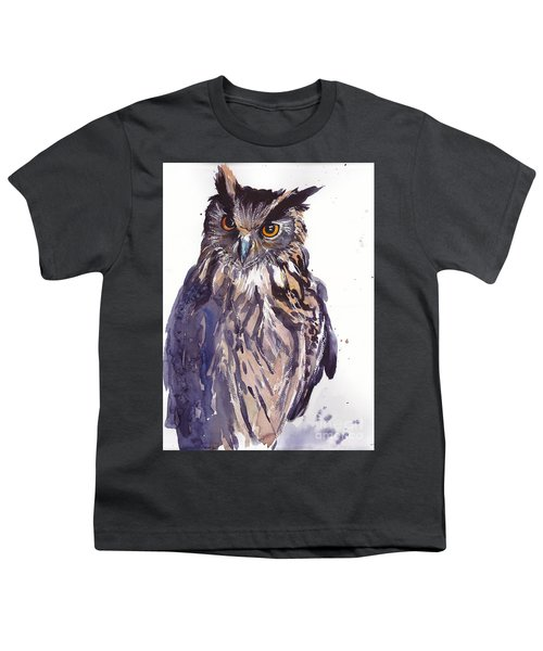 Owl Watercolor Youth T-Shirt